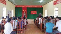 Khai giảng lớp đào tạo nghề lao động nông thôn xã Đăk Ngo 2018