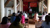Khai giảng lớp đào tạo nghề lao động nông thôn xã Đăk Buk So 2018